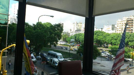 Conte Hotel: Vista desde comedor