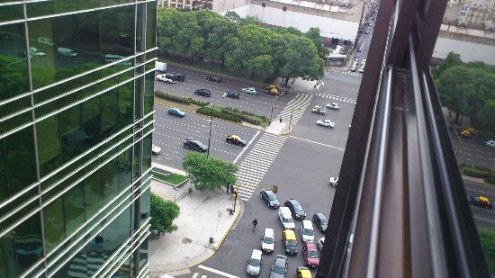 Conte Hotel: Vista desde habitacion