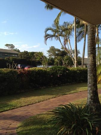 The Noosa Apartments : view from our apartment (unit 3)