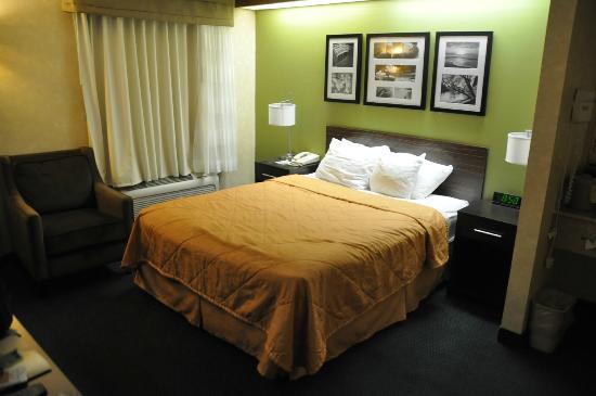 Sleep Inn: Bed