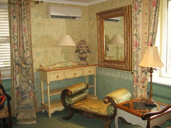 La Roseraie Biebler Hotel-Restaurant : airco