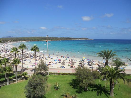 Hipotels Mediterraneo : dalla stanza hotel