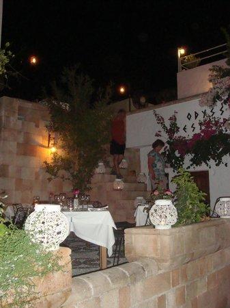 Odyssia restaurant.