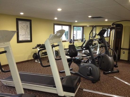 Best Western Plus Augusta Civic Center Inn: great fitness center