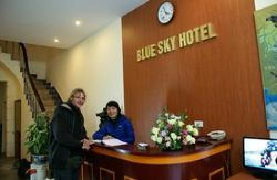 Hanoi Blue Sky Hotel: Reception