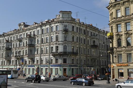 мини отель аничков бридж санкт-петербург