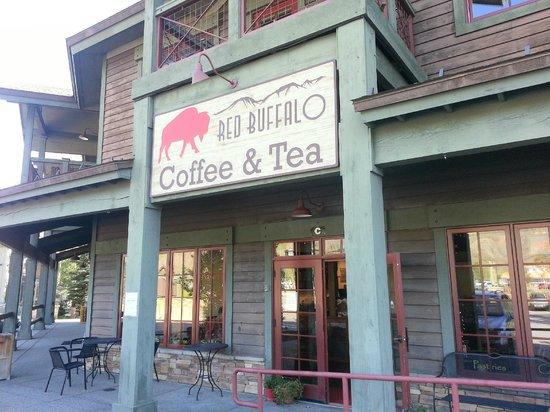 Exterior of Red Buffalo Coffee & Tea