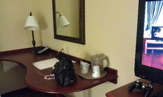 Hampton Inn & Suites Lakeland-South Polk Parkway: desk