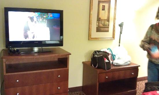Hampton Inn & Suites Lakeland-South Polk Parkway: tv