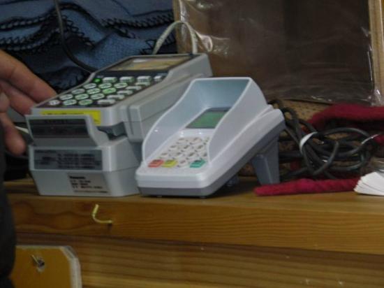 Fujisan Hotel: and credit card terminals