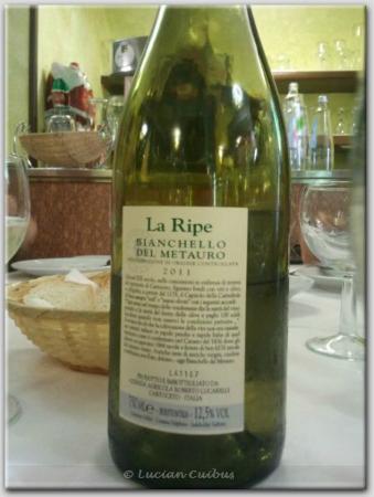 Al Cantuccio : White wine