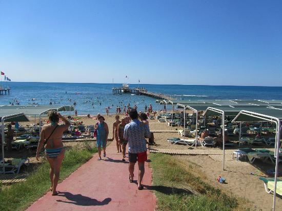 SENTIDO Turan Prince: Beach area