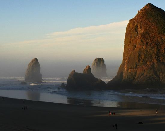 """Haystack Rock: """"Goonie Rocks"""" at Cannon Beach"""