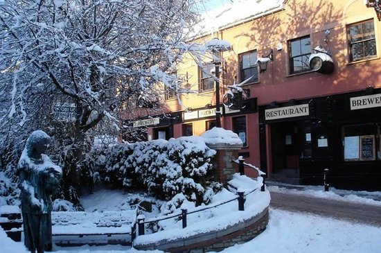 The Brewery Bar and Restaurant: Winter at The Brewery