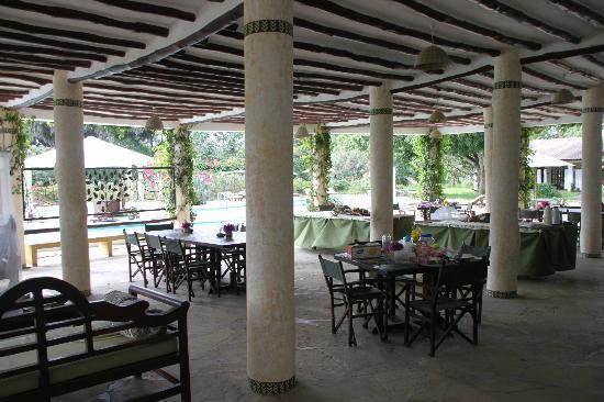 Royal Tulia resort: Area Ristorazione
