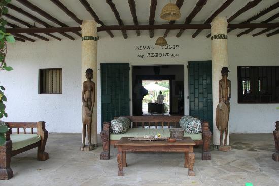 Royal Tulia resort: Ingresso Principale alla struttura