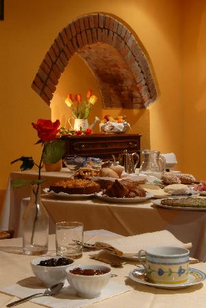 I Grappoli : La sala colazioni
