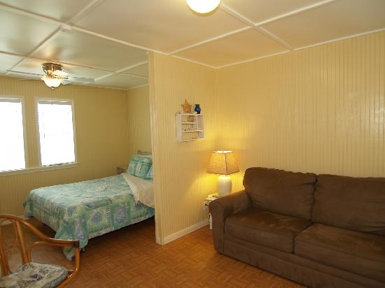 The Cottages at Seashell Village: All of our cottages have an open floorplan