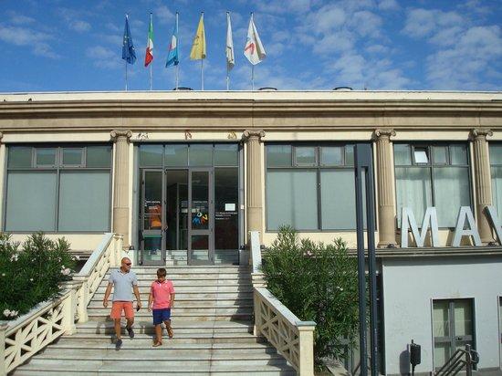 Ercolano, Italië: l'entrata del museo