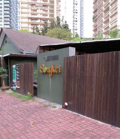 Songket Restaurant: Exterior of restaurant