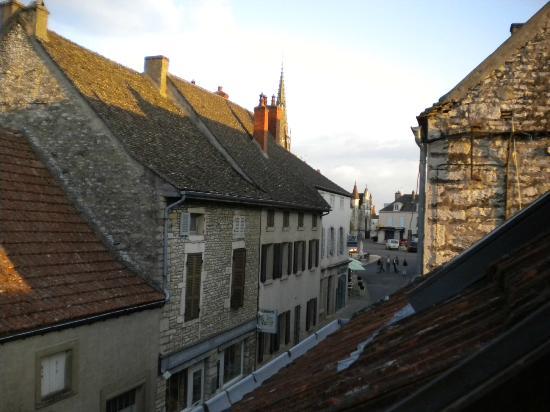 Hôtel le Mont Mélian : vista dall'abbaino della camera