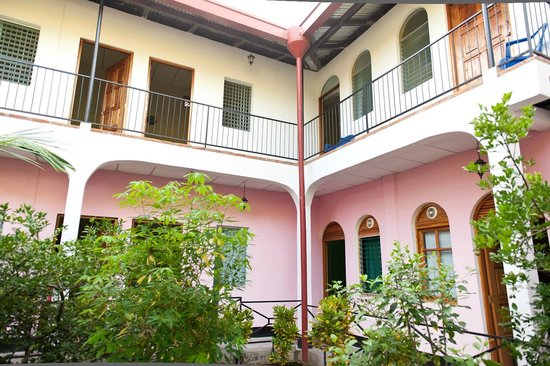 Guesthouse El Carmen: The new wing where the Studios and Standard rooms are