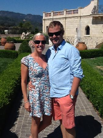 Del Dotto Vineyards & Winery: Outside the Vineyard
