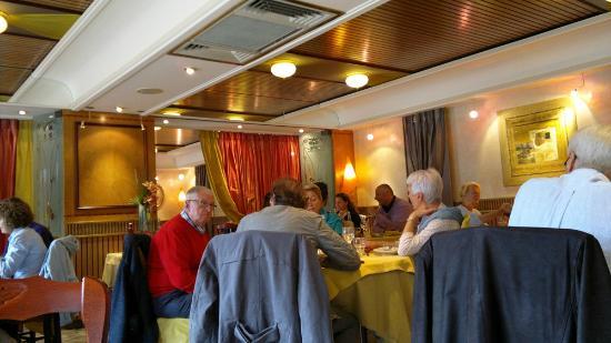 Restaurant Au Faisan Dore : interno