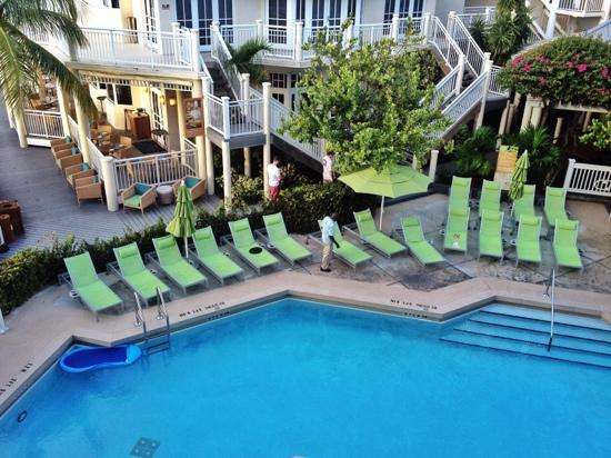 Hyatt Key West Resort and Spa: 3203, Building 3, level 2, ocean & pool view, king bed, patio