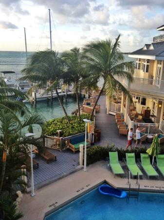 Hyatt Centric Key West Resort and Spa: 3203, Building 3, level 2, ocean & pool view, king bed, patio