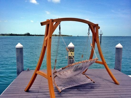 Hyatt Key West Resort and Spa: swing on the pier