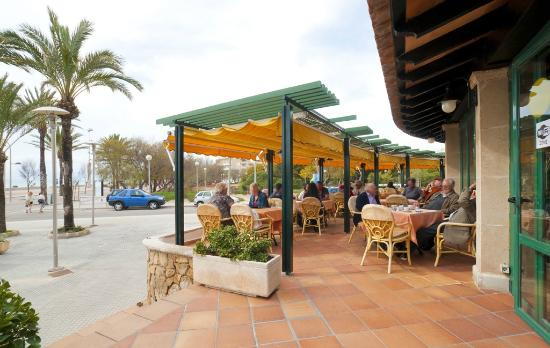 Restaurante Pizzeria L'Arcada: Terraza