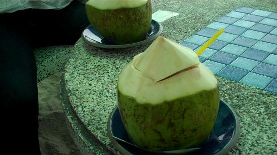 Anantasila Villa by the Sea, Hua Hin: Fresh Young Coconut