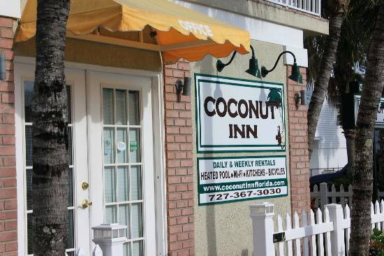 Coconut Inn: Main Office