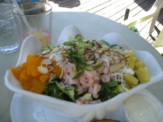 Schooner Inn Cafe: Hawaiian Shrimp salad