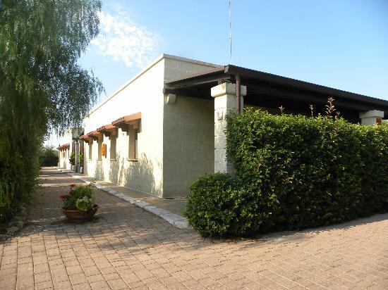 Villa Barone: ESTERNO CAMERA