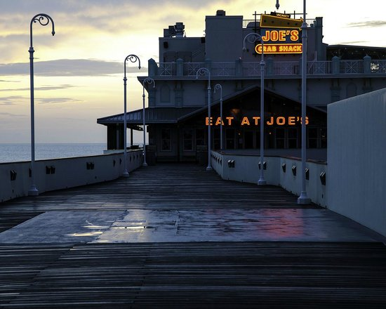 From The Roof Picture Of Joe S Crab Shack Daytona Beach