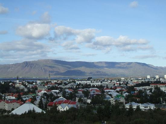 The Pearl (Perlan): View from the Perlan