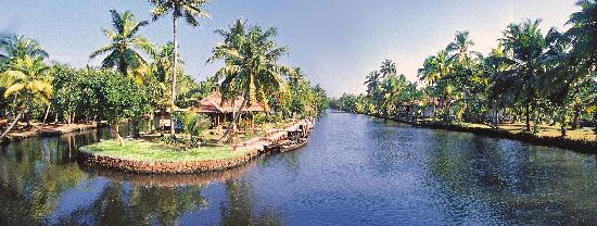 Coir Village Lake Resort: full view