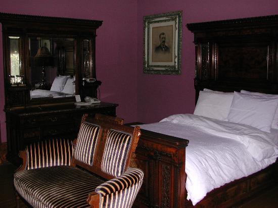 Chateau Tivoli Bed & Breakfast: Isadora Duncan room1