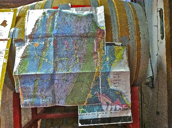 Doukenie Winery: their resident geologist gives educational outreach vineyard tours