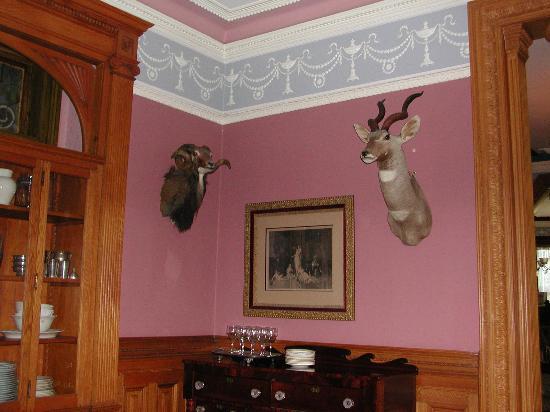 Chateau Tivoli Bed & Breakfast: Particolare del soggiorno
