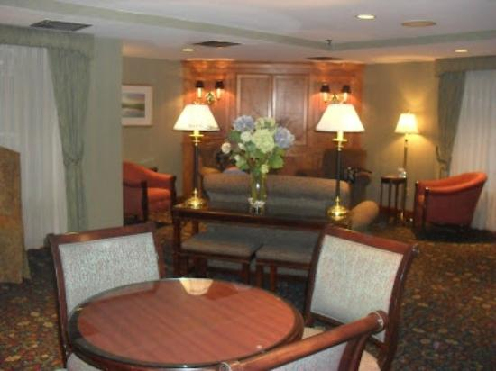 BEST WESTERN PLUS Chelmsford Inn: Cozy reception area