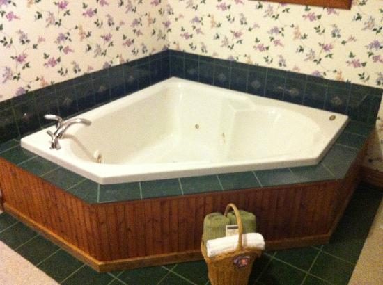 Lamplight Inn Bed and Breakfast : Jacuzzi