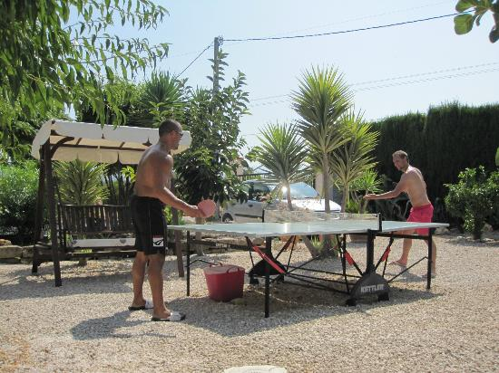 Casa En El Campo: Table tennis