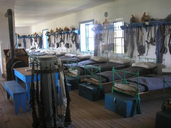 Fort Laramie National Historic Site: barracks