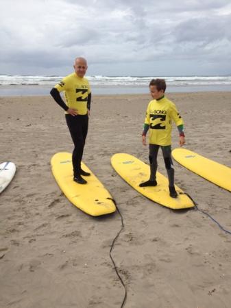 Surfworld Bundoran: Jamie and Garry aug 2012