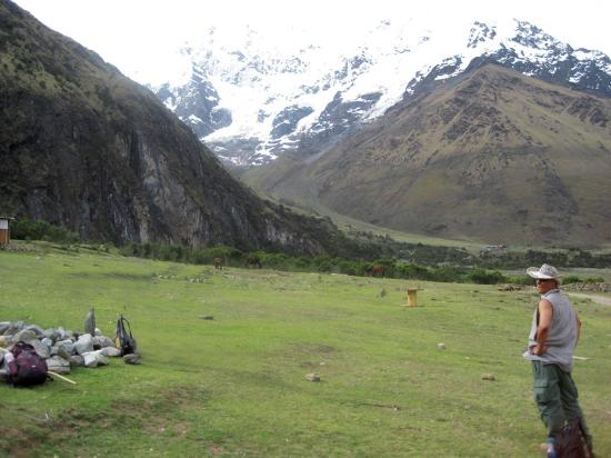 Eco Quechua Lodge: Camp under Salkantay SnowPeak