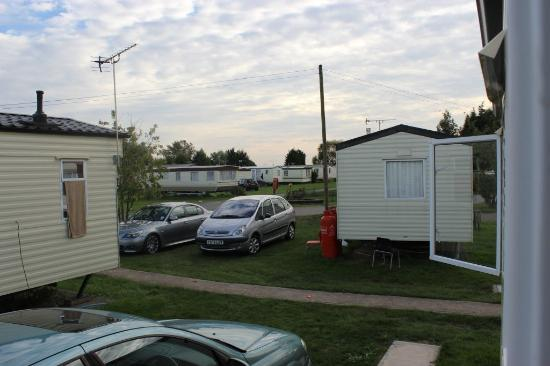 Steeple Bay Holiday Park - Park Holidays UK: View from caravan