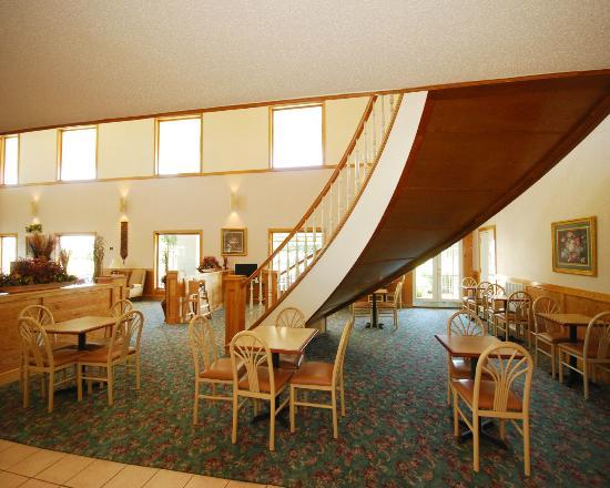 Quality Inn Tunica/Robinsonville: Breakfast Area
